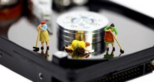 Limpieza automática de disco