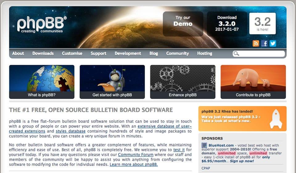 Instalación de los foros phpBB versión 3