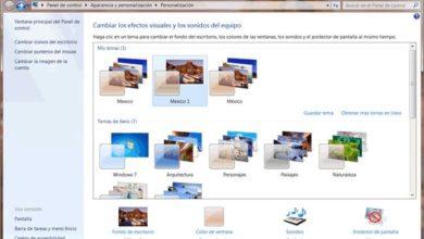 Windows Personalización