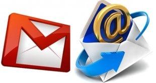 Importar correo y contactos en Gmail