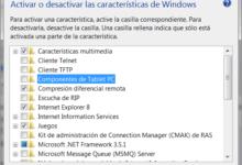 Photo of Activar o desactivar características de Windows 7