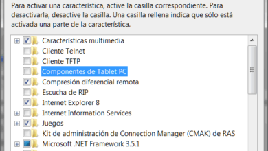 Photo of Activar o desactivar características de Windows 7