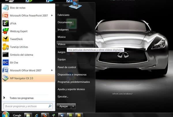 Photo of Incluir enlace a Vídeos en el menú de Inicio en Windows 7
