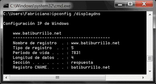 Caché DNS