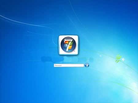 Inicio de sesión en Windows 7