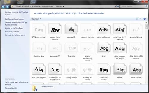 Photo of Restaurar fuentes en Windows 7