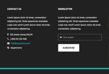Crear una zona de widgets en el footer de WordPress