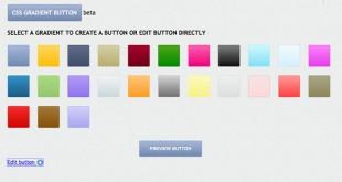 CssGradientButton, para crear botones para tu web