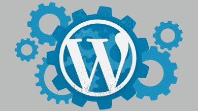 Limpieza de la página de Widgets en WordPress