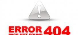 Controlar páginas de Error 404 en WordPress