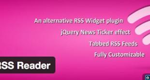 Super RSS Reader, completo widget RSS para WordPress