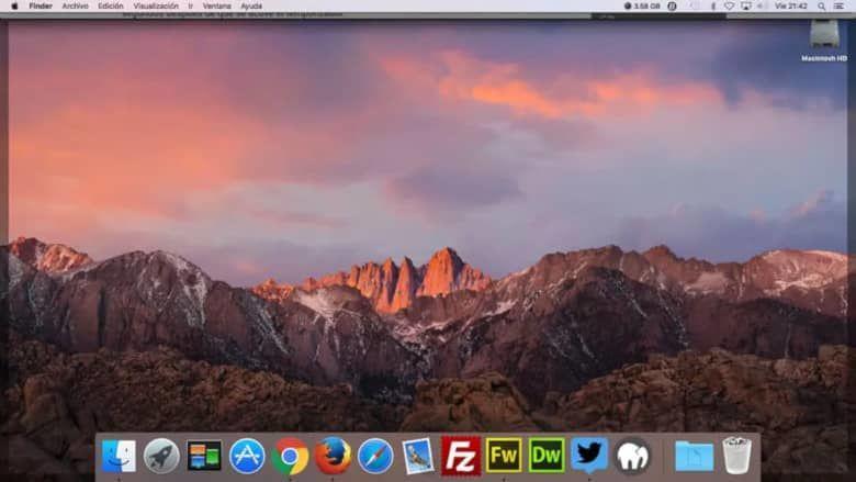 Cómo fijar accesos directos a carpetas en el Finder de Mac