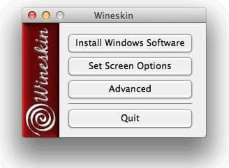 Wineskin Install