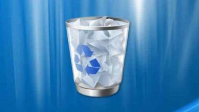 Desactivar la opción Propiedades en la Papelera de reciclaje