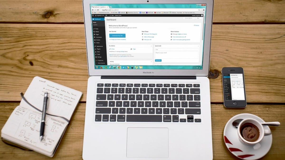 Importar y exportar widgets en WordPress